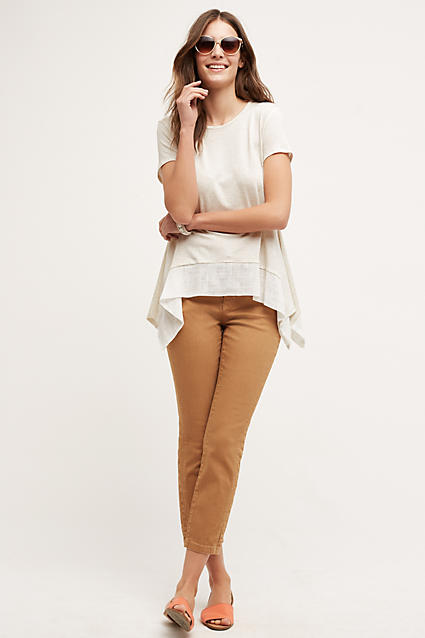 Jean camel Anthropologie